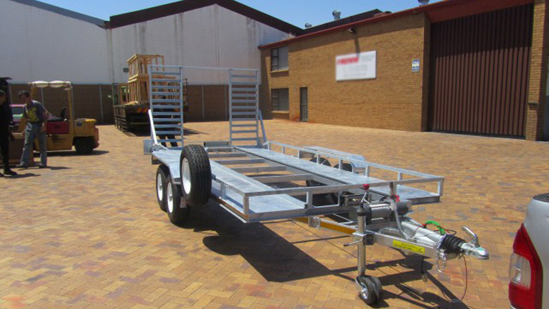 Intempo Trailers - Car Trailer 2