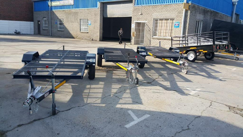 Intempo Trailers - Flat Deck 4