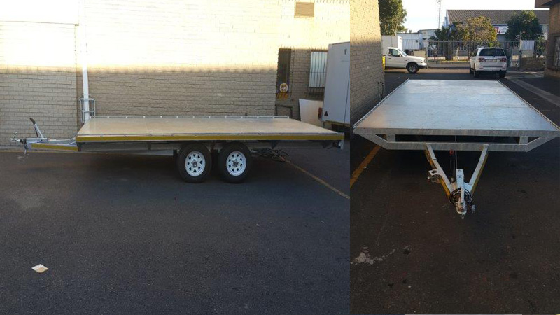 Intempo Trailers - Flat Deck